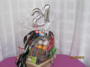 Add an Age to a Gift Basket