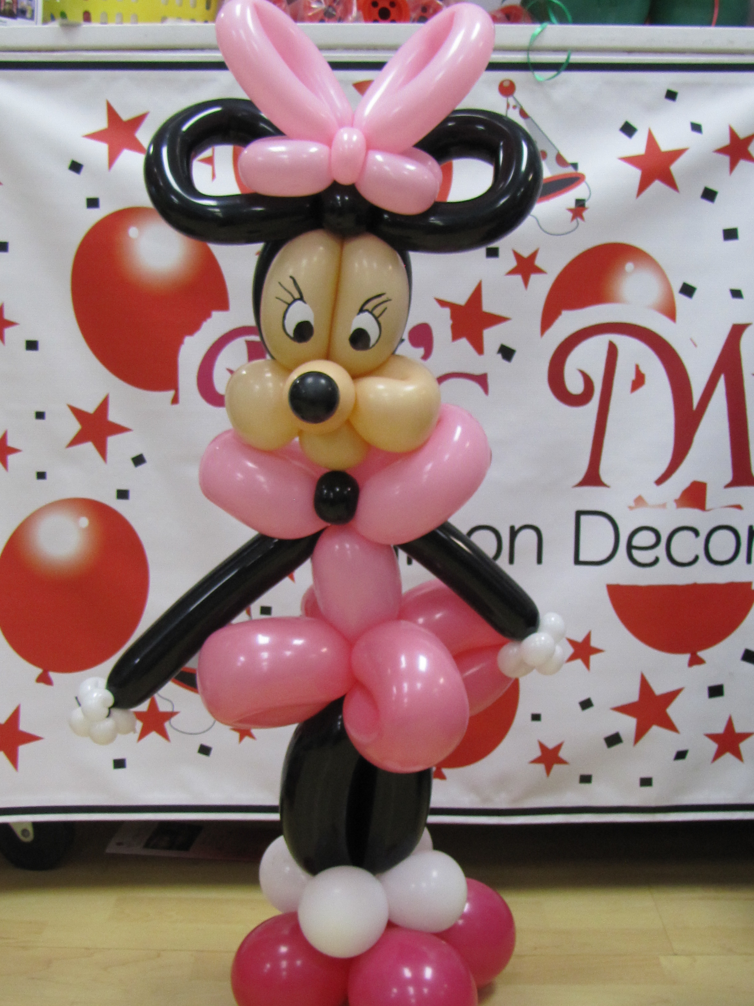 Balloon decorations for mickey mouse amytheballoonlady - Minni et mickey ...