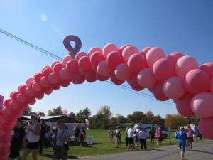 Arch for Cancer Walk