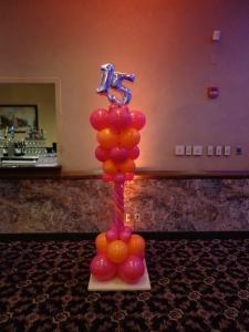Balloon Column For Quince