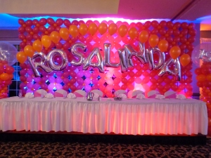 Quince Balloon Wall