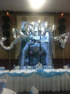 Quinceanera Balloon Arch